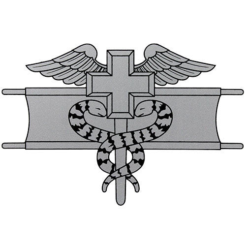 Expert Field Medical Badge Clear Decal