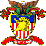 West Point Crest Clear Decal