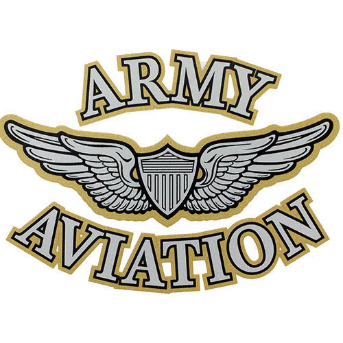 Army Aviation Clear Decal