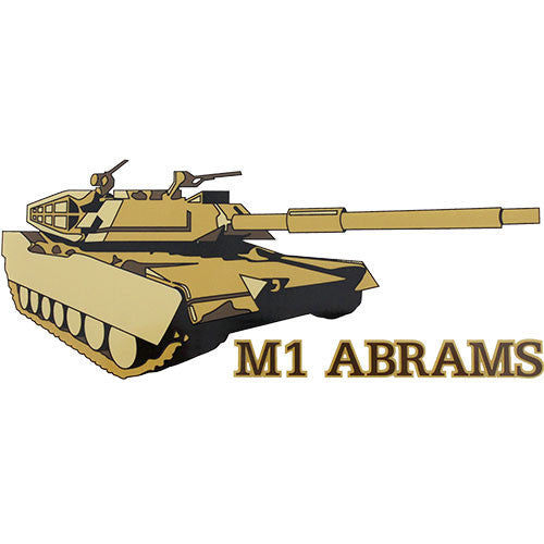 M1 Abrams Clear Decal