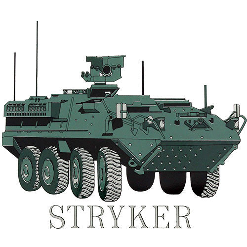 Stryker Clear Decal