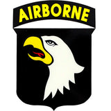 101st Airborne Shield Clear Decal