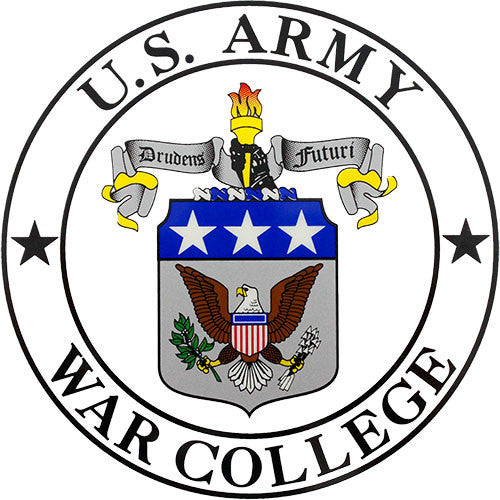 U.S. Army War College Decal