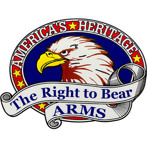Right To Bear Arms Clear Decal
