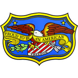 Proud To Be An American Clear Decal