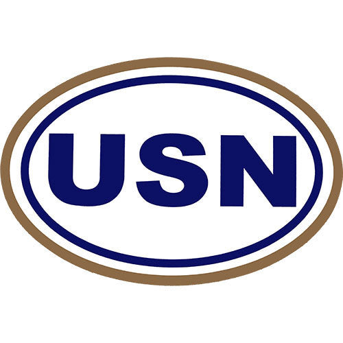 U.S. Navy Euro Decal