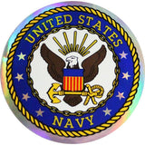 U.S. Navy 3 Inch Prism Decal