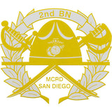 2nd Battalion San Diego Clear Decal