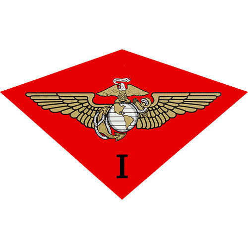 1st Marine Air Wing Clear Decal
