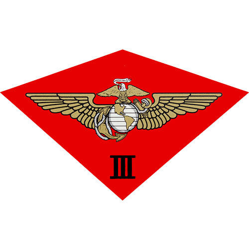 3rd Marine Air Wing Clear Decal