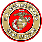 Camp Lejeune Clear Decal
