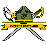 Support Battalion Clear Decal