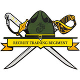 Recruit Training Regiment Clear Decal