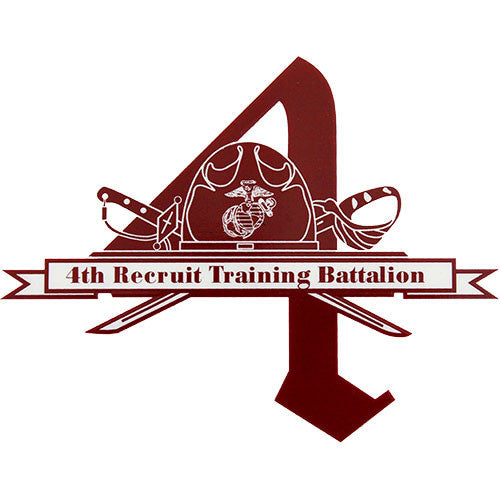 4th Battalion Clear Decal