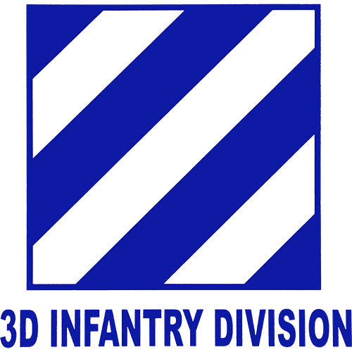 3rd Infantry Division Clear Decal