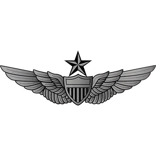 Army Senior Aviator Clear Decal
