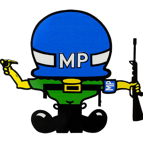 MP Large Helmet Decal