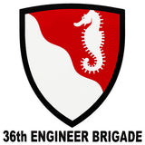 36th Engineer Brigade Clear Decal