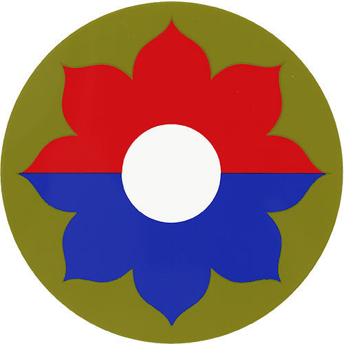 9th Infantry Division Decal