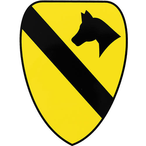 1st Cavalry Large Decal