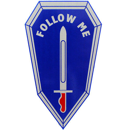 U.S. Army Infantry Follow Me Small Decal
