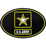 Army Star Oval Euro Style Decal
