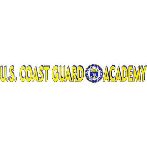 U.S. Coast Guard Academy Clear Window Strip