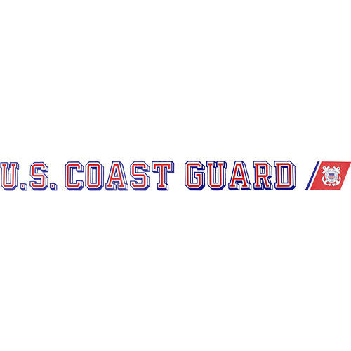 U.S. Coast Guard Clear Window Strip