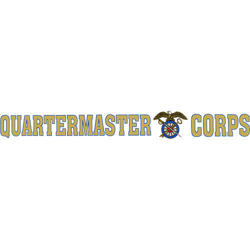 Quartermaster Corps Clear Window Strip