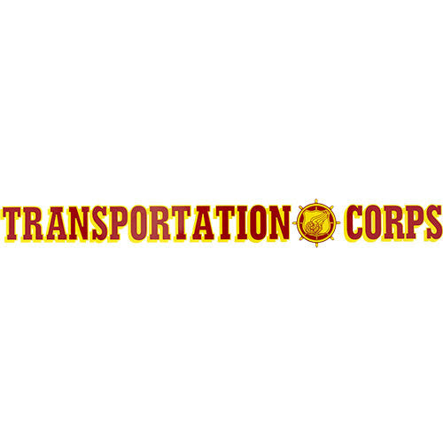 Transportation Corps Clear Window Strip