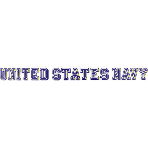 U.S. Navy Clear Window Strip