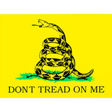 Don't Tread On Me Clear Decal