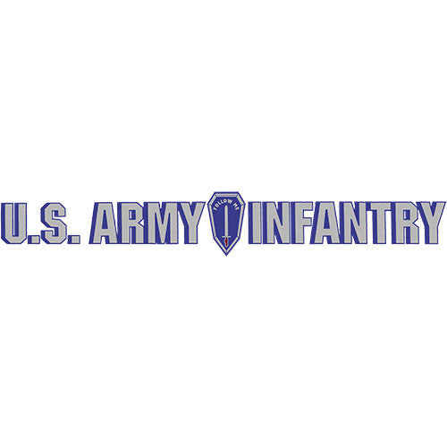 Infantry 'Follow Me' Clear Window Strip