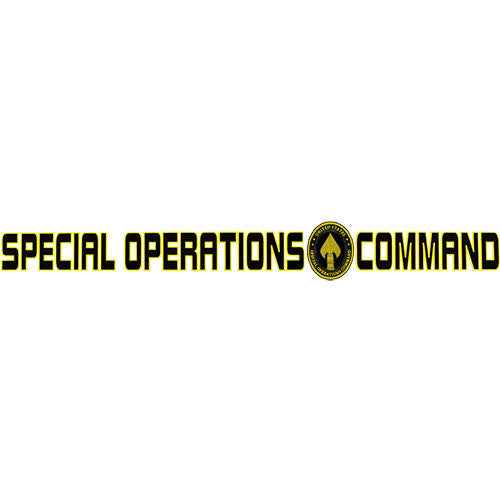 Special Operations Command Clear Window Strip