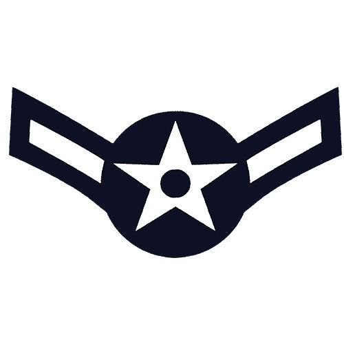 USAF E-2 Airman Decal
