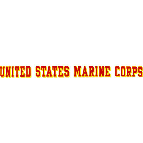 United States Marine Corps Window Strip