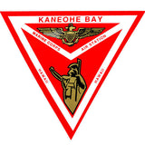 Kaneohe Bay MCAS 4 Inch Triangle Decal