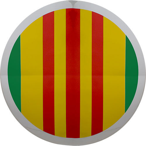 Vietnam Veteran Ribbon Large Holographic Sticker