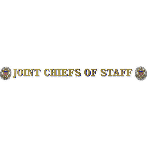 Joint Chiefs Of Staff Clear Window Strip