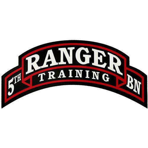 5th Ranger Training Battalion Decal