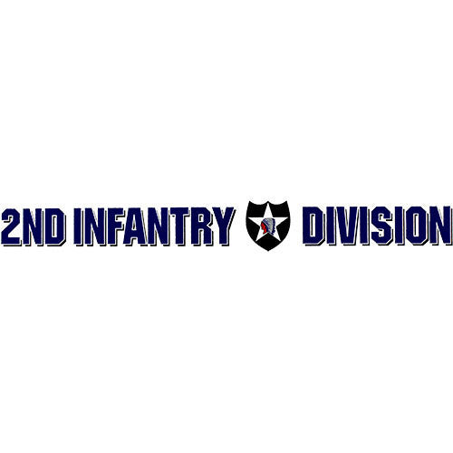 2nd Infantry Division Clear Window Strip