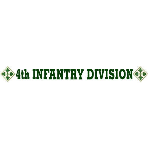 4th Infantry Division Clear Window Strip