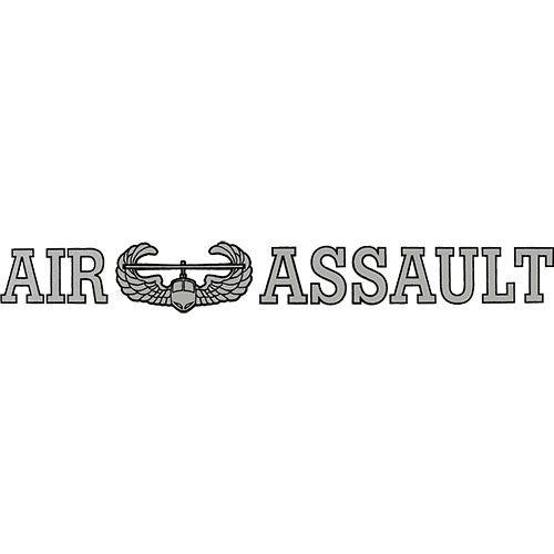 Air Assault Clear Window Strip