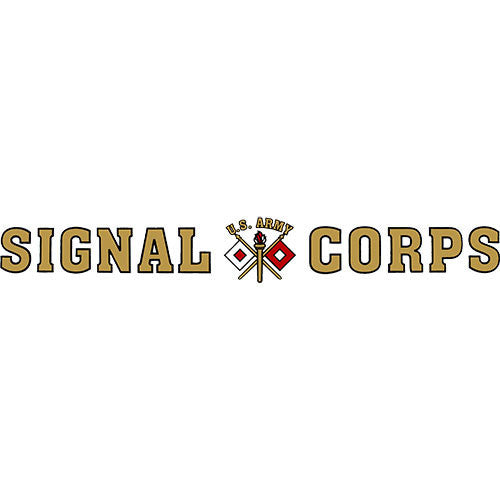 Signal Corps Clear Window Strip