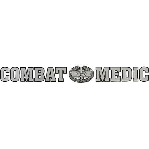 Combat Medic Clear Window Strip
