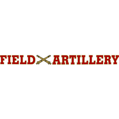 Field Artillery Clear Window Strip