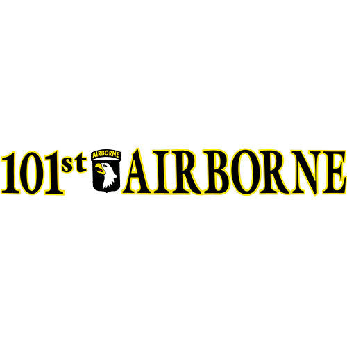 101st Airborne Clear Window Strip