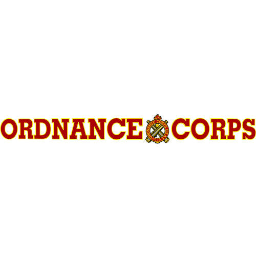 Ordnance Corps Clear Window Strip
