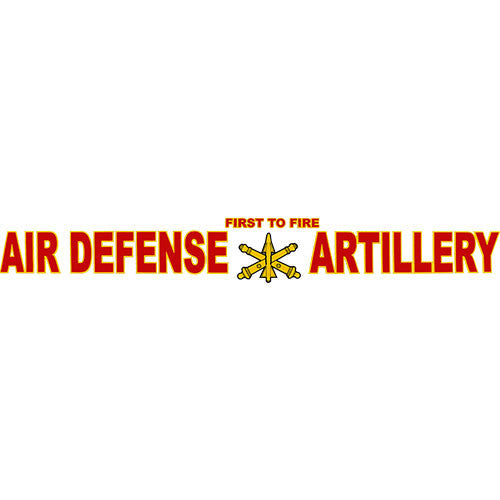 Air Defense Artillery Clear Window Strip