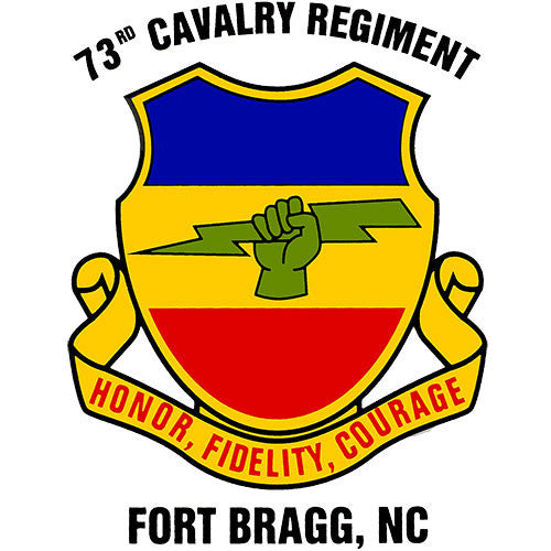 73rd Cavalry Regiment Clear Decal